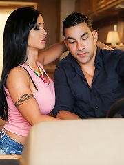 Jewels Jade and Marco Rivera